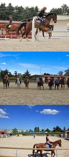 Centre Equestre Lyon Parilly - Enfants - Lyon Est