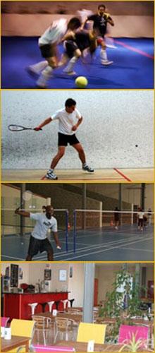 Squash Confluence - Sports individuels & Sports de Balle - Lyon Sud